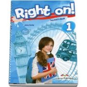 Jenny Dooley, Right on! 1 Teachers Book. Manualul profesorului, Level Beginner (A1)