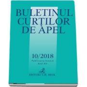 Buletinul Curtilor de Apel nr. 10/2018