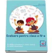 Evaluare pentru clasa a IV-a