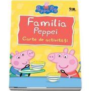 Familia Peppei. Carte de activitati, colectia Peppa Pig