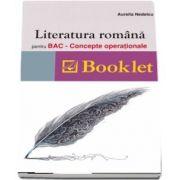 Literatura romana pentru BAC. Concepte operationale