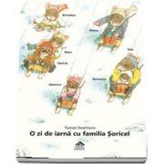 O zi de iarna cu familia Soricel
