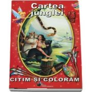 Cartea junglei. Citim si coloram