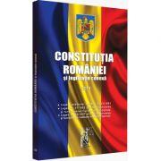 Constitutia Romaniei si legislatie conexa. Editie tiparita pe hartie alba - Legislatie consolidata si index - 2019