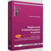 Dreptul social al Uniunii Europene in practica - Partea I. Conceptul de lucrator. Principiul nediscriminarii. Protectia lucratorilor. Cooperarea transfrontaliera. Modelul social european