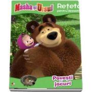 Masha Si Ursul. Reteta pentru dezastru, povesti si jocuri
