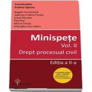 Minispete. Volumul II. Drept procesual civil. Editia a II-a