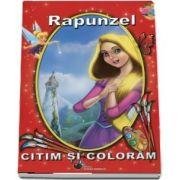Rapunzel. Citim si coloram
