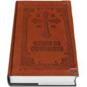 Carte de rugaciuni cartonata, legata in piele