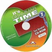 Curs de gramatica. Limba engleza Its grammer time 1. Test booklet CD-ROM - Jenny Dooley, Virginia Evans
