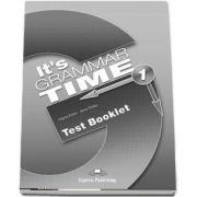 Curs de gramatica. Limba engleza Its grammer time 1. Test booklet - Jenny Dooley, Virginia Evans