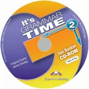Curs de gramatica. Limba engleza Its grammer time 2. Test booklet CD-ROM (Jenny Dooley, Virginia Evans)