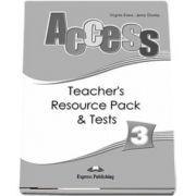 Curs de limba engleza Access 3. Material aditional pentru profesori cu teste - Jenny Dooley, Virginia Evans
