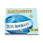 Curs de limba engleza Blockbuster 4. Test booklet CD-ROM (Jenny Dooley, Virginia Evans)
