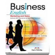 Curs de limba engleza Business English Marketing and Sales. Manualul elevului