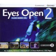 Eyes Open Level 2 Class Audio CDs