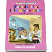 Fata babei si fata mosneagului. Povestile copilariei, carte de colorat.