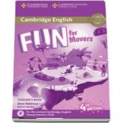Fun for Movers Teachers Book with Downloadable Audio