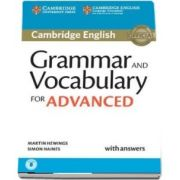 Grammar and Vocabulary for Advanced Book with Answers and Audio : Self-Study Grammar Reference and Practice