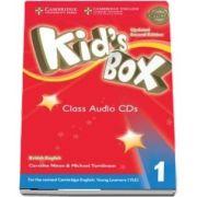 Kids Box Level 1 Class Audio CDs (4) British English
