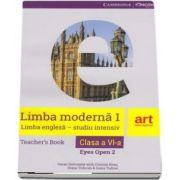 Limba engleza pentru clasa a V-a. Teachers Book. Eyes open 2