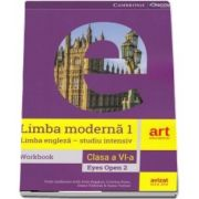 Limba engleza. Clasa a VI-a. Workbook. Eyes Open 2 (Vicki Anderson)