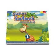 Super Safari. Activity Book. Limba Engleza. Clasa pregatitoare (Herbert Puchta)
