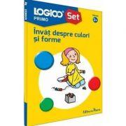 Abilitati de baza, invat despre culori si forme. Colectia logico primo