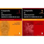 Compendiu de specialitati medico-chirurgicale, pentru REZIDENTIAT 2019. Volumele 1 si 2 - Coordonat de Prof. Dr. Victor Stoica si Viorel Scripcariu
