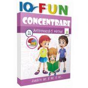 Concentrare - IQ FUN - Varsta recomandata: 4 - 7 ani