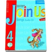 Join Us for English 4. Songs Audio CD