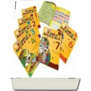 Jolly Phonics Activity Books 1-7 : in Precursive Letters (British English edition)