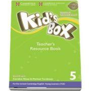 Kids Box Level 5 Teachers Resource Book with Online Audio British English