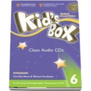 Kids Box Level 6 Class Audio CDs (4) British English