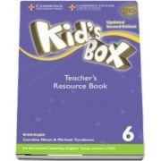 Kids Box Level 6 Teachers Resource Book with Online Audio British English