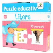Litere - Puzzle educativ