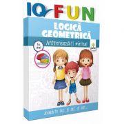 Logica geometrica - IQ FUN - Varsta recomandata: 5 - 8 ani