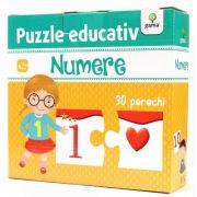 Numere - Puzzle educativ