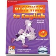 Playway to English Level 4 Activity Book with CD-ROM