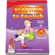 Playway to English Level 4 Flash Cards Pack