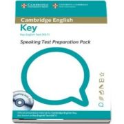 Speaking Test Preparation Pack for KET Paperback with DVD