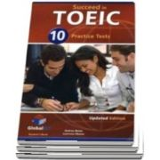 Succeed in TOEIC. Students Book with 10 Practice Tests, Self Study Guide, Answers and Audio CDs