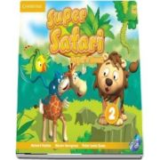 Super Safari Level 2 Pupils Book with DVD-ROM