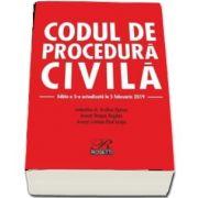 Codul de procedura civila. Editia a V-a, actualizata la 5 februarie 2019