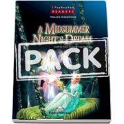 Curs de limba engleza - A Midsummer Nights Dream Reader with Audio CD (level 2)