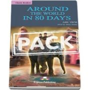 Curs de limba engleza - Around the World in 80 Days Book with Audio CD