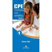 Curs de limba engleza - CPE Listening and Speaking Skills 1 Class CDs (set 6 CD uri)