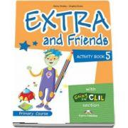 Curs de limba engleza - Extra and Friends 5 Activity Book