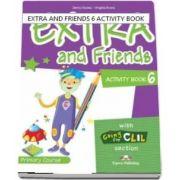 Curs de limba engleza - Extra and Friends 6 Activity Book