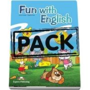 Curs de limba engleza - Fun with English 1 Primary Pupils Book with multi-ROM